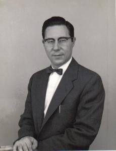 William Glasser, around 1953.